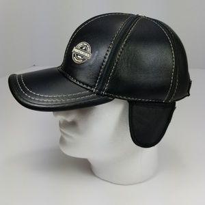 PRETENDER UK ALLSEASON LEATHER CAP W/ EAR FLAPS